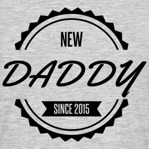 new_daddy_since_2015 Tee shirts - T-shirt Homme