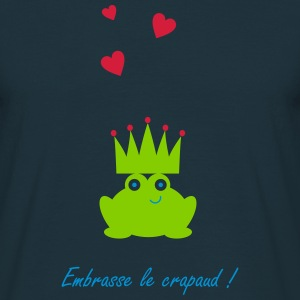embrasse_le_crapaud_ Tee shirts - T-shirt Homme