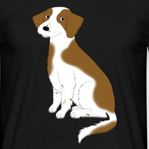 welsh_spaniel T-shirts - Herre-T-shirt
