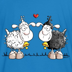 Moutons dans l'amour Tee shirts - Tee shirt bio Homme