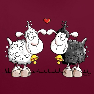 Sheep in love Hoodies & Sweatshirts - Contrast Colour Hoodie