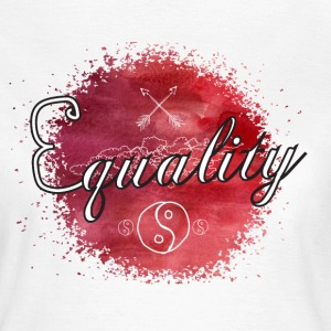 Equality - Watercolor T-shirts - T-shirt dam