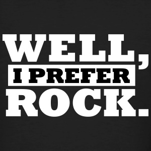 I Rock Well. T-Shirts - Männer Bio-T-Shirt
