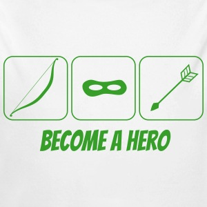 become a hero 2 Pullover & Hoodies - Baby Bio-Langarm-Body