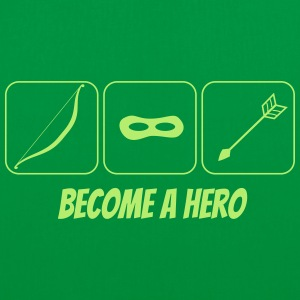 become a hero 2 Bags & Backpacks - Tote Bag