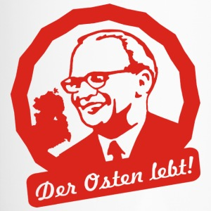 Erich Honecker Der Osten lebt! - Thermobecher