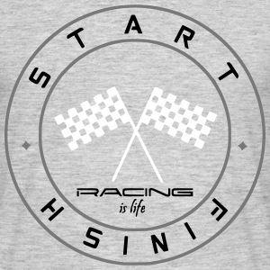 Racing is life (Light,3) Tee shirts - T-shirt Homme