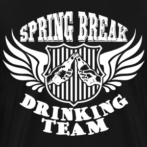 Spring Break Drinking Team T-shirts - Mannen Premium T-shirt