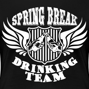 Spring Break Drinking Team T-skjorter - Premium T-skjorte for kvinner