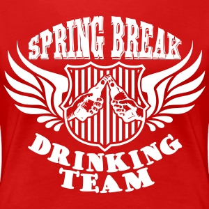 Spring Break Drinking Team T-shirts - Vrouwen Premium T-shirt