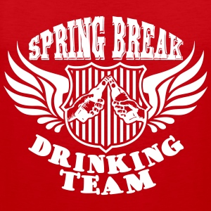 Spring Break Drinking Team Tank Tops - Herre Premium tanktop