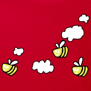 Bee in the Clouds Shirts - Kinderen Bio-T-shirt