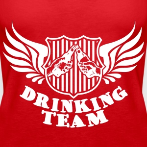 Drinking Team Tops - Vrouwen Premium tank top