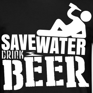 Save water Drink beer T-shirts - Mannen T-shirt