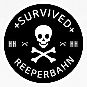 Survived Reeperbahn T-Shirts - Men's V-Neck T-Shirt