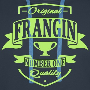 Frangin Sweat-shirts - Sweat-shirt à capuche Premium pour hommes