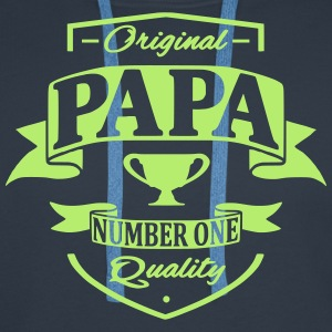 Papa Sweat-shirts - Sweat-shirt à capuche Premium pour hommes