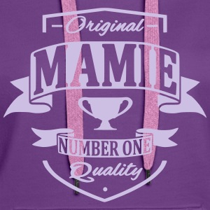 Mamie Sweat-shirts - Sweat-shirt à capuche Premium pour femmes
