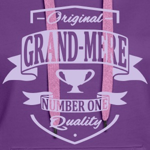 Grand Mère Sweat-shirts - Sweat-shirt à capuche Premium pour femmes