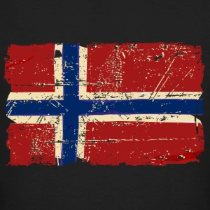 Norway Flag - Vintage Look  T-Shirts - Men's Organic T-shirt