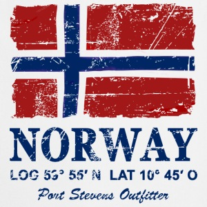 Norway Flag - Vintage Look  Forklæder - Forklæde