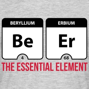 Beer Essential Element  T-shirts - Mannen T-shirt