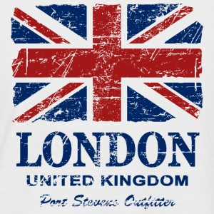 Union Jack - London - Vintage Look  T-skjorter - Kortermet baseball skjorte for menn