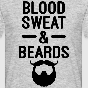 Blood, Sweat & Beards  Koszulki - Koszulka męska