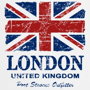 Union Jack - London - Vintage Look  Fartuchy - Fartuch kuchenny