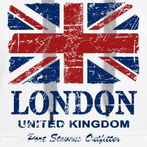 Union Jack - London - Vintage Look  Pullover & Hoodies - Frauen Premium Hoodie