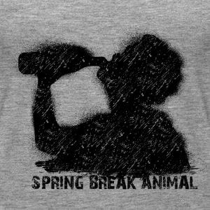 spring break animal Tops - Frauen Premium Tank Top