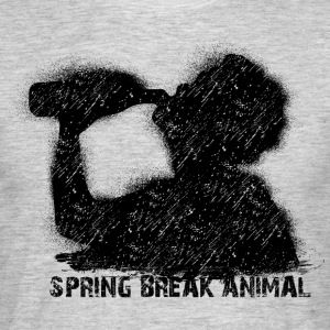 spring break animal T-shirts - Herre-T-shirt