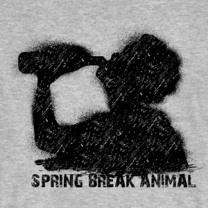 spring break animal T-Shirts - Männer Bio-T-Shirt