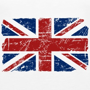Union Jack - UK - Vintage Look  Tops - Camiseta de tirantes premium mujer