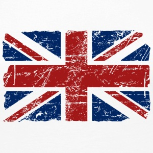 Union Jack - UK - Vintage Look  Long Sleeve Shirts - Women's Premium Longsleeve Shirt