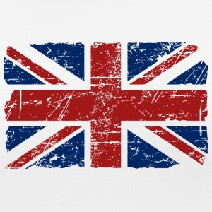 Union Jack - UK - Vintage Look  T-skjorter - Pustende T-skjorte for kvinner