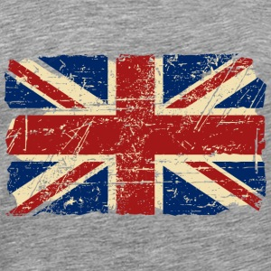 Union Jack - UK - Vintage Look  T-skjorter - Premium T-skjorte for menn