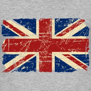 Union Jack - UK - Vintage Look  T-Shirts - Männer Slim Fit T-Shirt