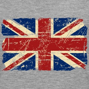 Union Jack - UK - Vintage Look  Long sleeve shirts - Men's Premium Longsleeve Shirt