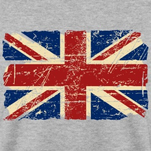 Union Jack - UK - Vintage Look  Hoodies & Sweatshirts - Men's Sweatshirt