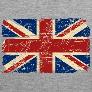 Union Jack - UK - Vintage Look  Tank topy - Tank top męski Premium