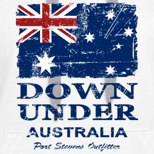 Down Under - Vintage Look  Hoodies & Sweatshirts - Women's Premium Hoodie