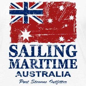 Australia - Maritime Flag - Vintage Look  Long Sleeve Shirts - Women's Premium Longsleeve Shirt