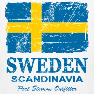Sweden  - Vintage Look  T-Shirts - Men's Organic T-shirt