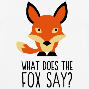 What did the fox say? T-Shirts - Men's Breathable T-Shirt