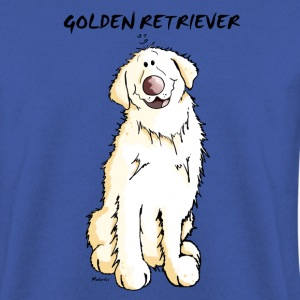 Gordi Golden Retriever Hoodies & Sweatshirts - Men's Sweatshirt