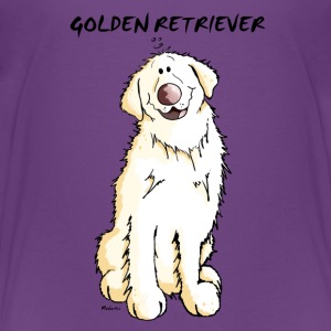 Gordi Golden Retriever - Hund - Hunde T-shirts - Teenager premium T-shirt