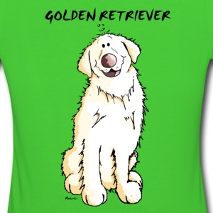 Gordi Golden Retriever T-Shirts - Frauen Bio-T-Shirt