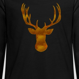 Deer Long Sleeve Shirts - Teenagers' Premium Longsleeve Shirt