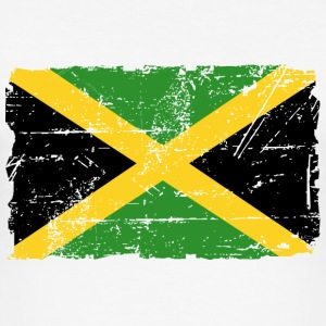 Jamaica - Reggae - Vintage Look  T-Shirts - Men's Slim Fit T-Shirt